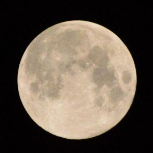 2013年9月19日 満月のお月様の写真