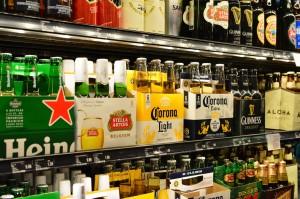 ABCストア ビール棚3
