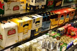 ABCストア ビール棚4