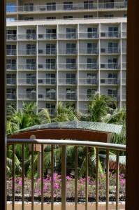 エンバシー・スイーツ・ワイキキ・ビーチウォーク 窓からの眺め