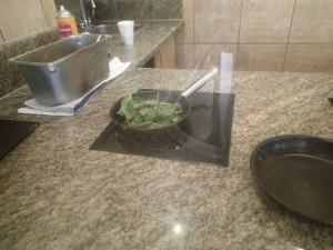 エンバシー・スイーツ・ワイキキ・ビーチウォーク 朝食 オムレツはシェフが焼いてくれます