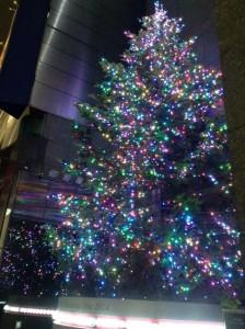 銀座クリスマス2014 ミキモト ツリー 03