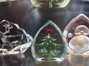 銀座クリスマス2014 和光ショーウィンドウ