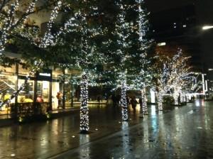 銀座クリスマス2014 番外 京橋スクエア