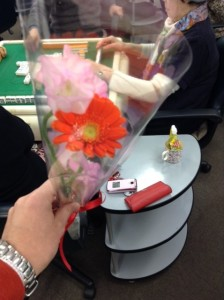 スズキフロリストの花をプレゼント