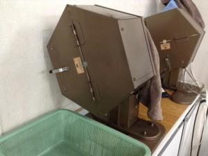 麻雀牌 洗う機械