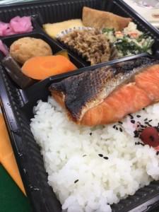 ほとめき 鮭弁